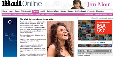 Laura White - 'The X Factor'