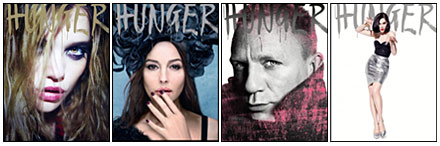HUNGER magazine from Rankin : issues 1-4