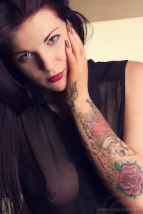Megan - Tattooed Beauty, by Paul Jones