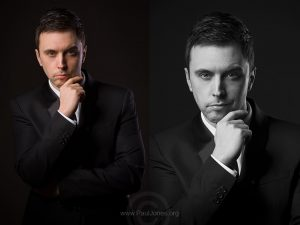 New Headshots for Jay, by Paul Jones