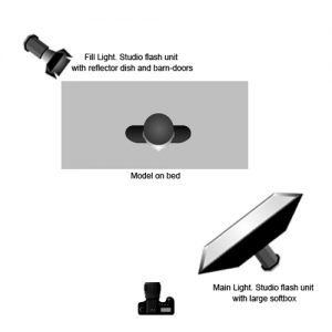 Setup : Front light v back light : by Paul Jones